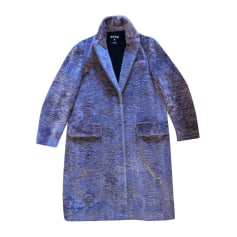 Manteau en fourrure Msgm  pas cher
