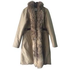 Manteau en fourrure Henry Cotton's  pas cher