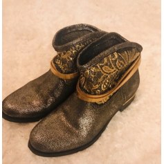 Bottines & low boots plates Goodstep  pas cher