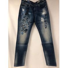 Jeans large, boyfriend Salsa  pas cher