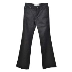 Jeans très evasé, patte d'éléphant Valentino  pas cher