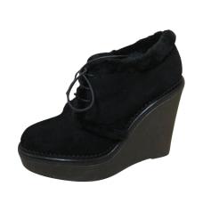 Bottines & low boots à compensés Yves Saint Laurent  pas cher