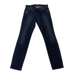 Jeans slim 7 For All Mankind  pas cher