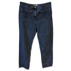 Jeans droit Courrèges  pas cher