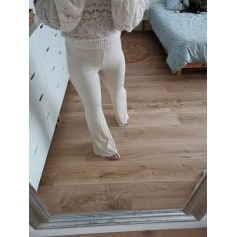 Pantalon évasé Bershka  pas cher