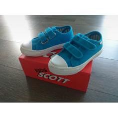 Chaussures à scratch Scott  pas cher