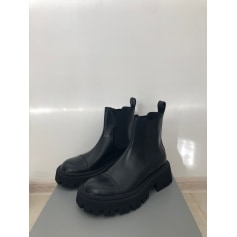 Bottines & low boots motards Balenciaga  pas cher