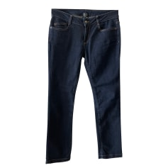 Jeans droit McQ par Alexander McQueen  pas cher