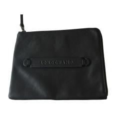 Sac pochette en cuir Longchamp 3D pas cher