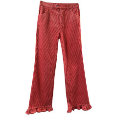 Jeans évasé, boot-cut Manoush  pas cher