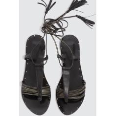 Sandales plates  Claudie Pierlot  pas cher