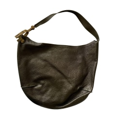 Sac en bandoulière en cuir Jean Paul Gaultier  pas cher