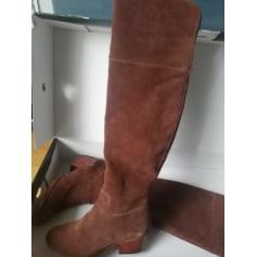 Thigh High Boots Ralph Lauren