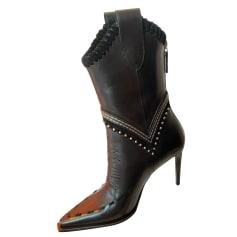Bottines & low boots à talons Dsquared2  pas cher