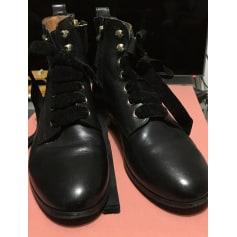 Bottines & low boots plates Sézane  pas cher