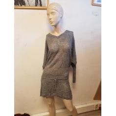 Robe mi-longue Bel Air  pas cher