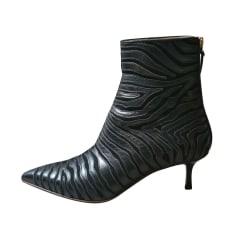Bottines & low boots à talons Francesco Russo  pas cher