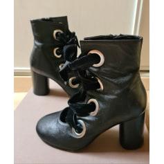 Bottines & low boots à talons Bianca Di  pas cher