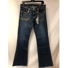Jeans large, boyfriend BCBG Max Azria  pas cher
