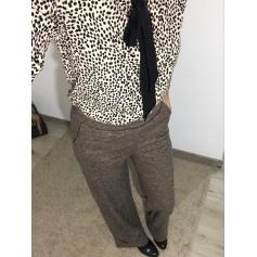 Pantalon très evasé, patte d'éléphant Kiabi  pas cher