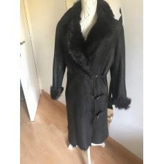 Manteau en cuir Stella Boticelli  pas cher