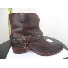 Santiags, bottines, low boots cowboy By Koah  pas cher