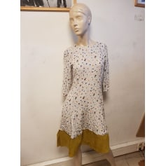 Robe mi-longue Pull & Bear  pas cher