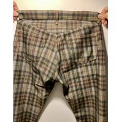 Pantalon droit Comme Des Garcons  pas cher