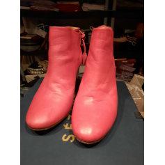 Santiags, bottines, low boots cowboy Sézane  pas cher