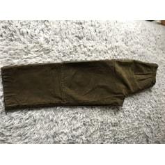 Pantalon droit Simon Guetta  pas cher