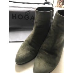 Bottines & low boots à talons Hogan  pas cher