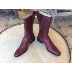 Bottines & low boots à talons Vero Cuoio  pas cher