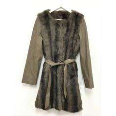 Manteau en fourrure K-Yen  pas cher