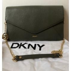 Schultertasche Leder DKNY