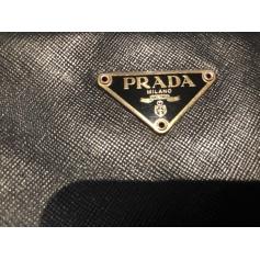 Sac à main en cuir Prada  pas cher