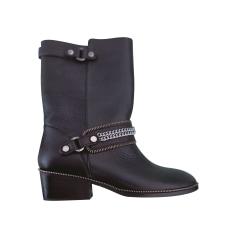 Bottines & low boots à talons Kesslord  pas cher