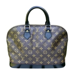 Sac à main en tissu Louis Vuitton Alma pas cher