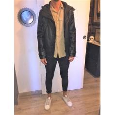 Leather Coat Sandro