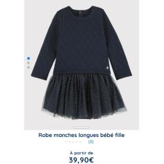Robe Petit Bateau  pas cher
