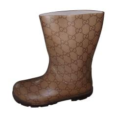 Bottes de pluie Gucci  pas cher