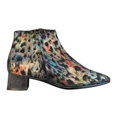 Bottines & low boots à talons Robert Clergerie  pas cher