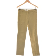 Pantalon slim, cigarette Mango  pas cher