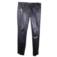 Pantalon slim, cigarette Bel Air  pas cher