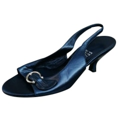 Sandales à talons Salvatore Ferragamo  pas cher