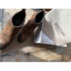 Santiags, bottines, low boots cowboy Alain Bastiani  pas cher