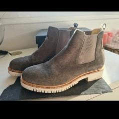 Bottines & low boots à compensés pied one  pas cher