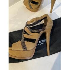 Sandales à talons Saint Laurent  pas cher