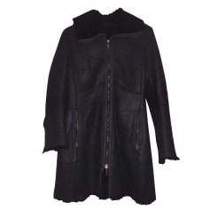 Manteau en cuir PennyBlack  pas cher