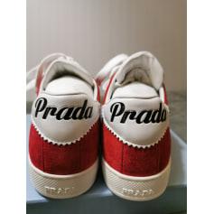 Baskets Prada  pas cher