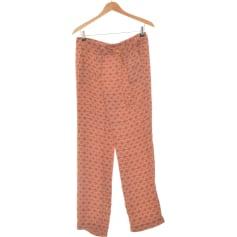 Pantalon droit Laura Clément  pas cher